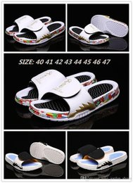 $enCountryForm.capitalKeyWord Australia - Cup World Men Hydro 5 V Rubber Sandals Jumpman Black Yellow Good Quality Shark Teeth Slipper Outdoor Casual Shoes Size 8-13