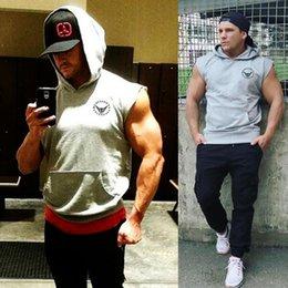$enCountryForm.capitalKeyWord Australia - Muscleguys Mens Cotton Hoodie Sweatshirts Fitness Shirt Clothing Bodybuilding Tank Top Men Sleeveless Tees Casual Vest