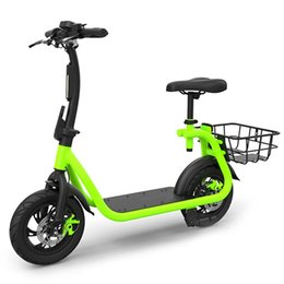 Smart Folding Electric Bike Moped Bicycle 8 8ah Battery With Disc Brakes Mini 148w High Sd Motor