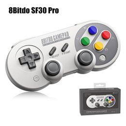 Wireless Pc Controllers Australia - 8BitDo SF30 Pro Bluetooth Game Controller Wireless Gamepad Android Mobile Phone Game Console For TV Box PC Nintendo Switch Game Joystick