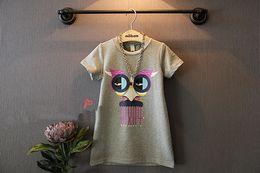 $enCountryForm.capitalKeyWord Australia - Children's clothing 2019 summer new arrival girl long T-shirt dress cute design boy 3 d 3D Tights boys t shirts blank baby good geometric