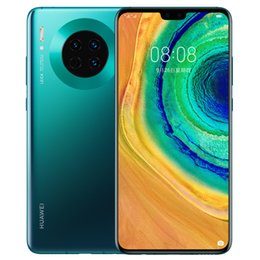 "Discount huawei cell phone tv - Original Huawei Mate 30 4G LTE Cell Phone 6GB RAM 128GB ROM Kirin 990 Octa Core Android 6.62"" Full Screen 40MP Fing"