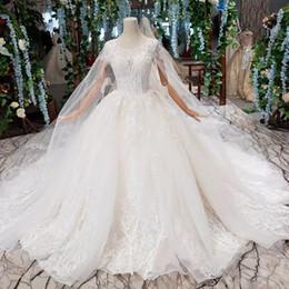 wedding vintage dress pattern 2019 - 2019 Latest Bohemian Wedding Dresses Long Lace Shawl Short Sleeve Open Keyhole Lace Up Back O Neck Sequins Applique Patt