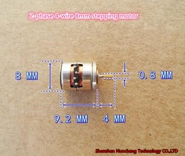 Gear Stepper Australia - 100PCS!Brand new 2-phase 4-wire 8mm stepping motor 3V-5V micro stepping motor with 10teeth copper gear ~