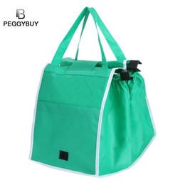 fdf1068c7 Foldable Shopping Bag Green Creative environmental Reusable Grocery Bags  Durable Multifunction HandBag Travel Home Storage Bolsa  226403