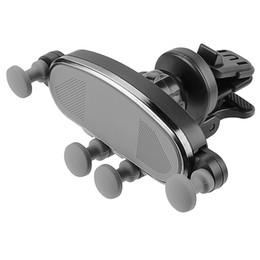$enCountryForm.capitalKeyWord Australia - Air Vent Phone Holder Universal Auto-Retractable Hands Free Gravity Phone Mount Stable Car Cradle Mount 360 Degree Adjustable