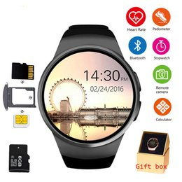 $enCountryForm.capitalKeyWord Australia - Kw18 Bluetooth Smart Watch Full Screen Support Sim Tf Card Smartwatch Phone Heart Rate For Multifunctional Fully Compatible