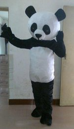 Movie character fancy dress online shopping - 2019 High quality cartoon character adult Panda Mascot Costume for sale fancy dress mascot costume for party
