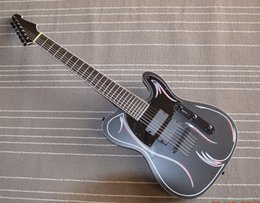 $enCountryForm.capitalKeyWord Canada - 7 string electric guitar ebony fingerboard flower body piano line custom offer