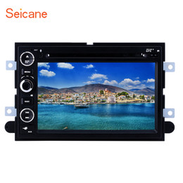 Discount ford android stereo - 7 inch Android 9.0 Car GPS Navigation Radio for 2006-2009 Ford Fusion Explorer 2007-2009 Edge Expedition Mustang with WI