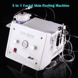hydrodermabrasion machines NZ - 3 In 1 Silk Peel hydrodermabrasion Diamond Peel Microdermabrasion machine oxygen facial peeling SPA Equipment skin care beauty machine