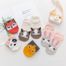 Funny Socks Fashion Australia - 2019 new HOT 3D printing ladies socks brand socks fashion unisex cat Meias female funny low to help ankle sale