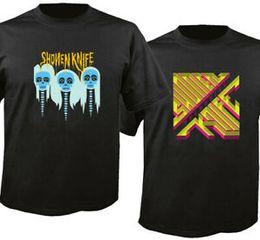 $enCountryForm.capitalKeyWord NZ - LG SH Shonen Knife Band Logo New BlaHip hop Custom T-Shirt T Shirt Men's