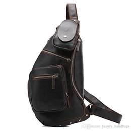 $enCountryForm.capitalKeyWord NZ - Leather Cowhide Chest Backpack Top Quality Famous Purse Designer Handbags Famous Brand Original Genuine Leather Shoulder Bags