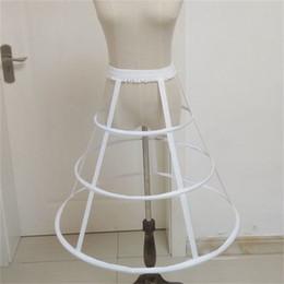 $enCountryForm.capitalKeyWord Australia - New Arrival Petticoats 3 Hoops Short Lo lita Underskirt Crinoline for Wedding Bride Formal Dress White Black Wedding Accessories