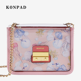 Pink Body Suits Australia - Pink sugao fashion Jelly shoulder bag luxury designer messenger crossbody bag high quality women chain transparentl bag 2piece suit