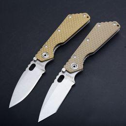 $enCountryForm.capitalKeyWord UK - Classic OEM Strider Folding knife 8Cr13 Stone wash Finish Tanto Blade Stainless Steel + G10 Handle EDC Pocket knife Outdoor Rescue knives