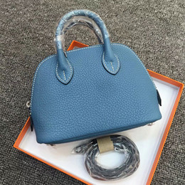 Bag Shells Australia - Elegant2019 Classic Quality Superior Fund Genuine Leather Mini- Shell Package Togo Cowhide Mini Single Shoulder Span Ma'am Bag