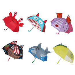 $enCountryForm.capitalKeyWord NZ - Rainproof Sun ShadeDual Use Umbrella 8 Ribs Automatic Umbrella Outdoor Gear For Children Students Children's Cute