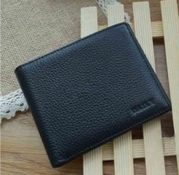 Discount korean leather bags for men - New High Quality wallet with gift box short Wallets Card Holders for Men women purse Clutch Bags Coin Purses