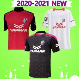 football league NZ - 2020 2021 Osaka Sakura Soccer Jersey J1 League Uniform 20 21 OKUNO SOUZA KAKITANI Home Away Third JAPAN red black white Football Shirt