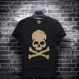 Drill T Shirt Australia - mens womens designer t shirts t shirt clothes of white hot drilling short-sleeved round neck half sleeve social spirit guy large Hot drill