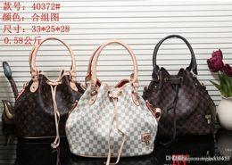 Großhandel 40372 # HY bester Preis Qualitätsfrauen Damen sondern Handtasche Tote Schulterrucksackbeutel-Geldbeutelmappe aus