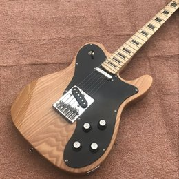 maple guitar necks 2019 - Electric Guitar Chinese manufacturers produce electric guitars, logs, color pewter, body, maple neck, free delivery disc