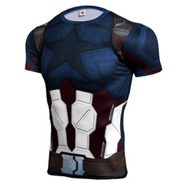Superman Batman T Shirt Australia - T-Shirt Supermen Batman 3D Printed New Short Sleeve Fitness Tights Running Sport Shirt Mens Rashgard Gym Cosplay Tops Tees Clothing Costume