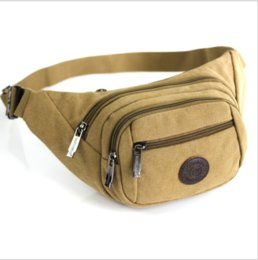 ff95cefd5 Women Men Sports Canvas Fanny Pack Waist Bag Running Shoulder Purse Outdoor  New Fanny Packs for Women Fashionable Hot Sell New