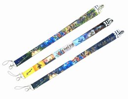 China fortnight Game Lanyard Phone Lanyards for Men Women Holders Chain Badge Keychain ID Cards Chain Action Toys Figure suppliers