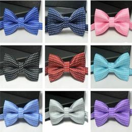 $enCountryForm.capitalKeyWord Australia - Kids bowtie polka dot bow tie Boys Girls baby bowties women men bow ties fashion neckwear for Wedding Party Children Christmas Gift hot