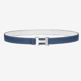 Leather Belt Metal UK - Design belts Women's belt logo metal buckle design Calf leather double-sided belt Metal buckle 2019 luxury fashion accessories
