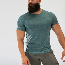 $enCountryForm.capitalKeyWord NZ - Echt T-shirt Mens Short Sleeves T Shirt Men Gyms Bodybuilding Skin Tight Thermal Compression Shirts Crossfit Workout Top