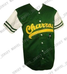 Baseball Power Australia - Custom Kenny Powers Charros Eastbound And Down Tv Baseball Jersey Button Down Stitched jersey XS-5XL