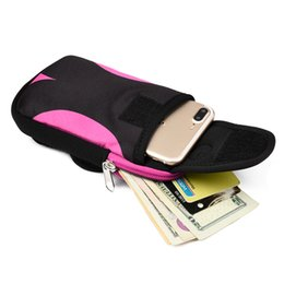 $enCountryForm.capitalKeyWord NZ - Portable Cycling Running Hiking Wrist Band Bag Outdoor Sports Holder Wallet Case Phone Pouch Bag Arm Package Mobile Phone Strap Pocket