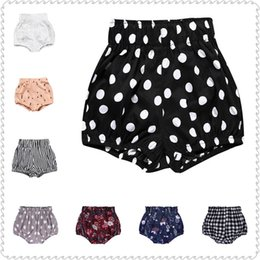Hot Girls Diapers Australia - Casual Children Shorts Hot Pants Summer Baby Girls Knickers Newborn Clothes Diaper Bloomers Infant Panties Minipants
