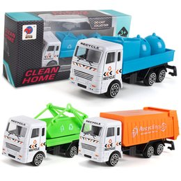 ColleCtions Cars online shopping - Cement Truck Toy Car Excavator Model Garbage Trucks Toys Simulation Multi Style Collection New Hot Sale bl D1