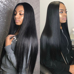 Human Hair prices online shopping - Brazilian Hair Straight Hair Extensions Bundles with x4 Lace Closure Human Hair Bundles with Closure Weft Price