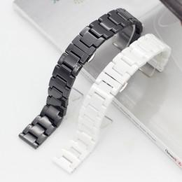 Pro Gear Australia - 2019 Fashion Ceramic Watch band For HUAWEI B3 B5 watch2 pro GT Samsung Gear S3 Watch Strap women's men's 16mm 18mm 20mm 22mm