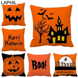 scary halloween party decorations NZ - LAPHIL Halloween Party Scary Pumpkin Witch Pillowcase Happy Halloween Decorations for Home 2019 Merry Christmas Party Supplies