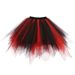 $enCountryForm.capitalKeyWord Australia - Short Mini Skirts To Womens 2019 Fashion Spring Summer High Quality Pleated Gauze Colours Short Skirt Adult Tutu Dancing Skirt