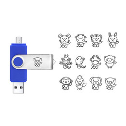 32g drives NZ - Wholesale Full Capacity USB 2.0 Custom OTG USB Flash Drive 8G 16G 32G Customized Your Logo USB