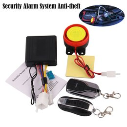 Car alarms remote Control online shopping - Alarm Motto Scooter Electricity Car Security Motorcycle Alarm System Anti theft Remote Control Engine Start accesorios para moto