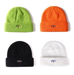 Embroidered Knit Hats Australia - NOAH Cross embroidered men's and women's warm knitted hat hip hop cold hat