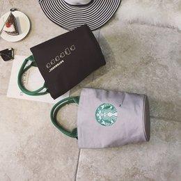 Moda Donna Borse Starbucks Carina Shopping Bag Borsa Tote Borsa da donna Fashion Design Lunch Bag 3 colori in Offerta