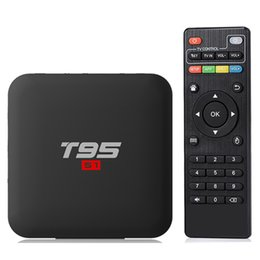 hdmi hd tv UK - T95 S1 Anddroid 7.1 TV Box Amologic S905W RAM 2GB ROM 16GB 2.4G Wifi 4K