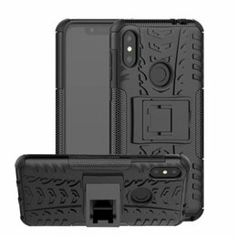 moto phone covers NZ - 6.2inch For Motorola Moto P30 Note   One Power Case Heavy Duty Armor Shockproof Hybrid Hard Soft Silicone Rugged Rubber Phone Case Cover