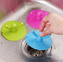kitchen blocks Australia - Sink Plug Bath Catcher Sink Strainer Kitchen Screen Floor Cover Drain Hair Stopper Hand Tools Bathroom Anti-blocking wang