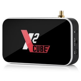 Black cuBe Box online shopping - X2 Cube Android TV Box S905X2 DDR4 GB16GB G G Wifi M BT Smart TV Box